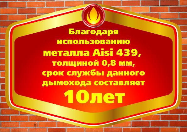 Наклейка на дымоход - дизайнер zhutol