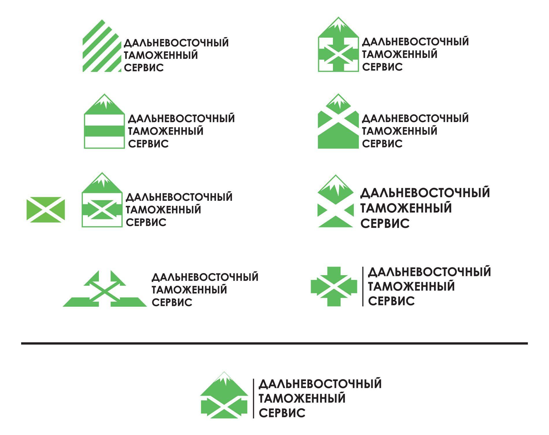 Логотип знак фирменные цвета для компании ДВТС   - дизайнер vision