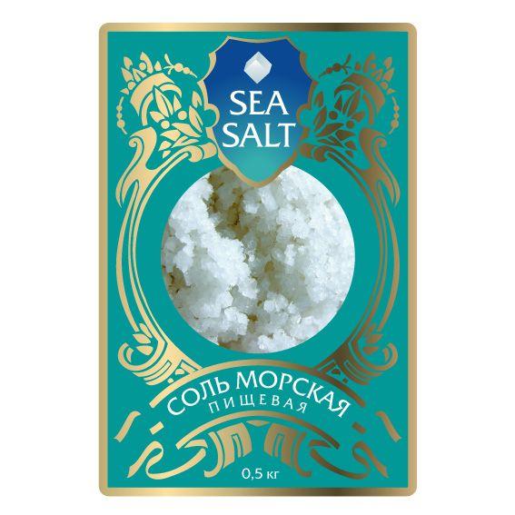 Дизайн этикетки для соли пищевой морской  - дизайнер zhutol