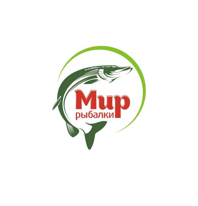 Логотип рыболовного магазина - дизайнер Olegik882