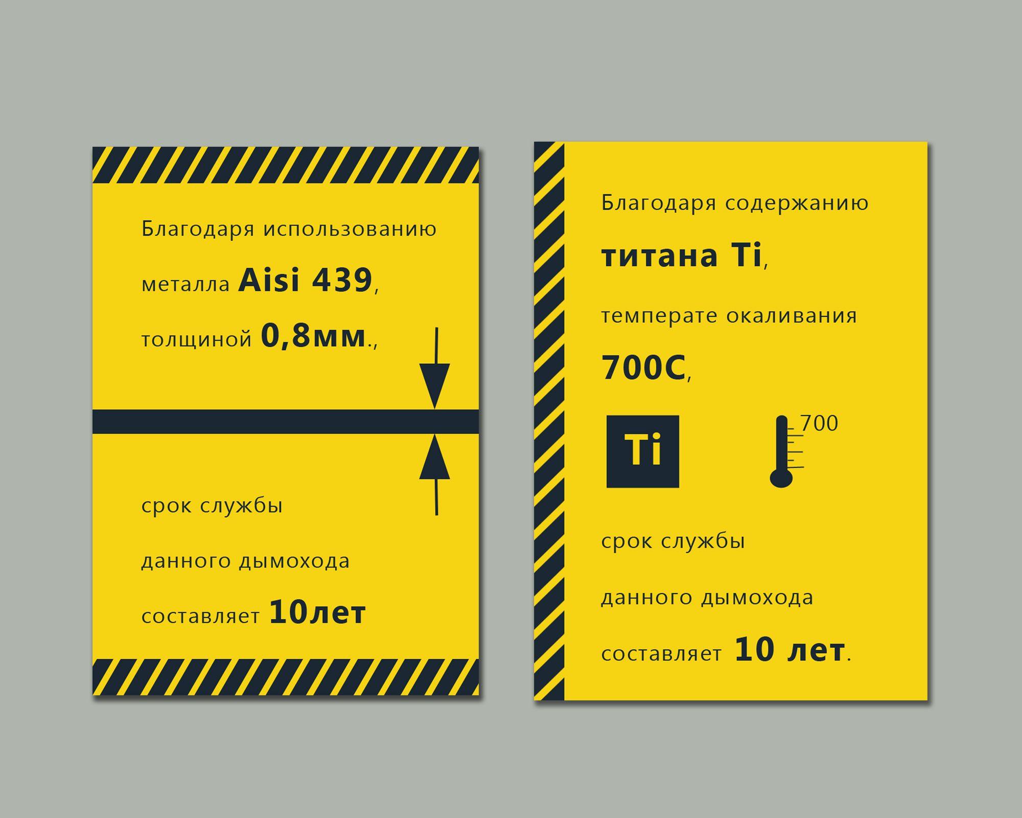 Наклейка на дымоход - дизайнер deco