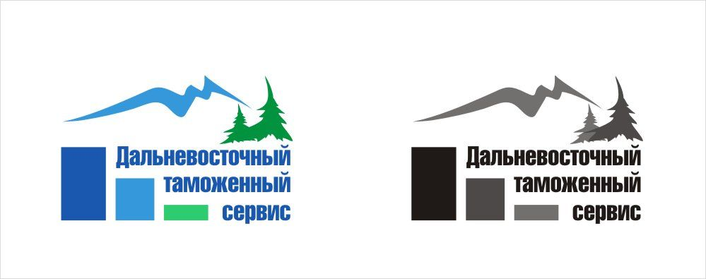 Логотип знак фирменные цвета для компании ДВТС   - дизайнер ya_lika