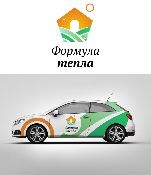Логотип для компании Формула Тепла - дизайнер nurasulov