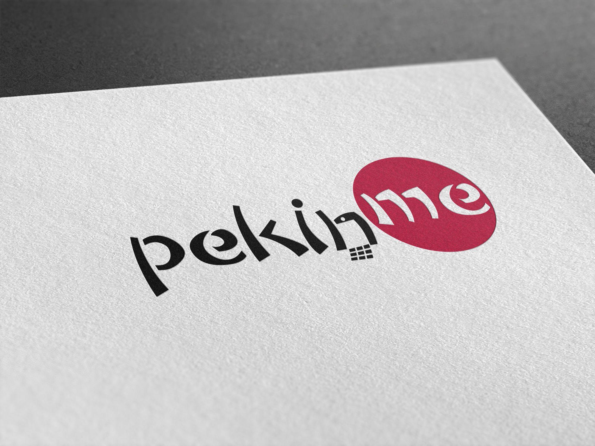 Логотип для компании pekin.me - дизайнер U4po4mak