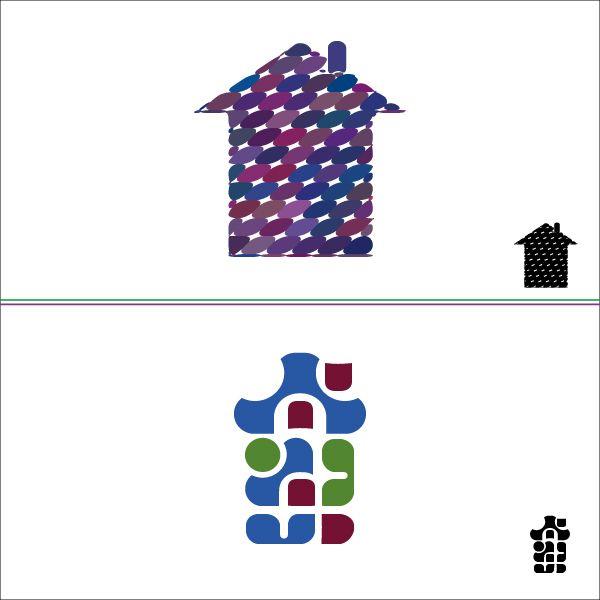 Разработка логотипа компании по ремонту и дизайну - дизайнер mosaic