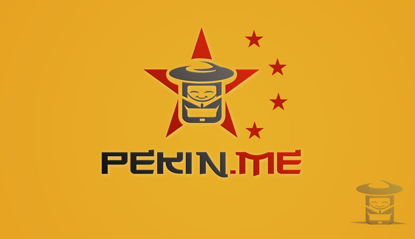 Логотип для компании pekin.me - дизайнер Kov-veronika