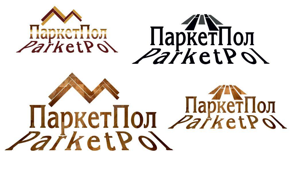 Лого и фирменный стиль компании по продаже паркета - дизайнер lilu