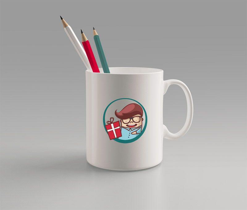 Фирменный стиль для магазина подарков - дизайнер VF-Group