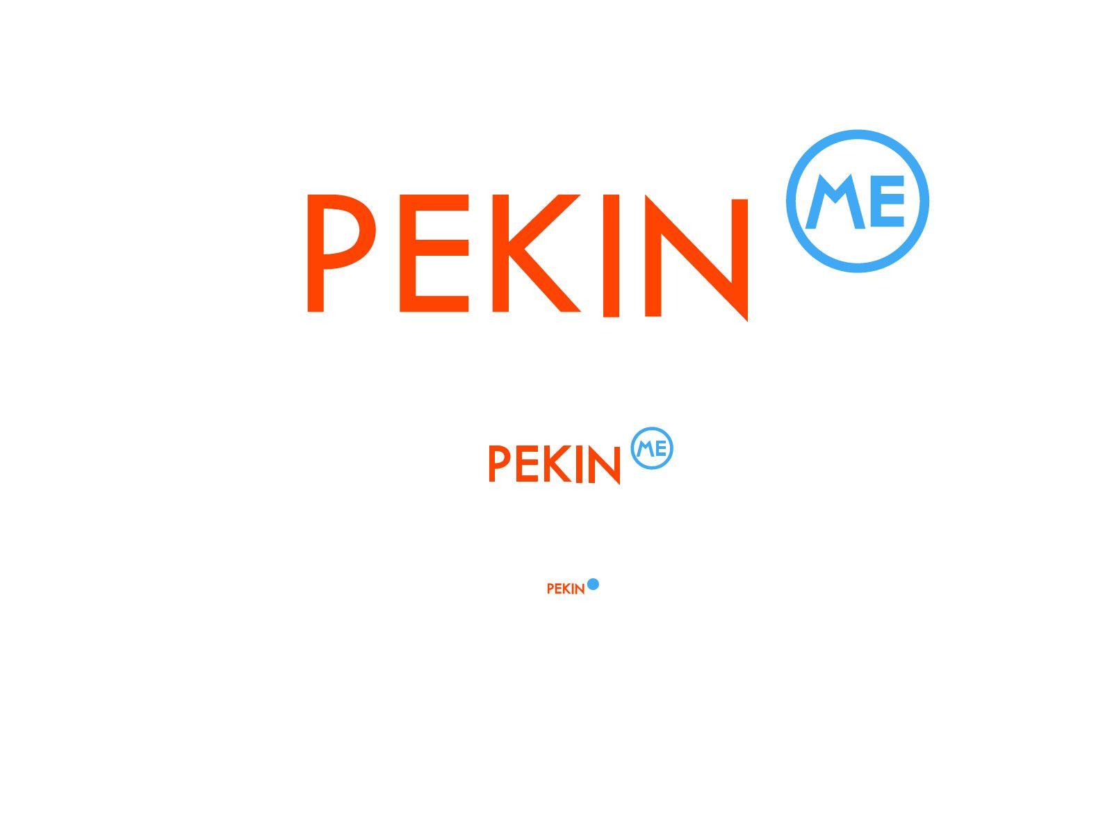 Логотип для компании pekin.me - дизайнер podluznydm