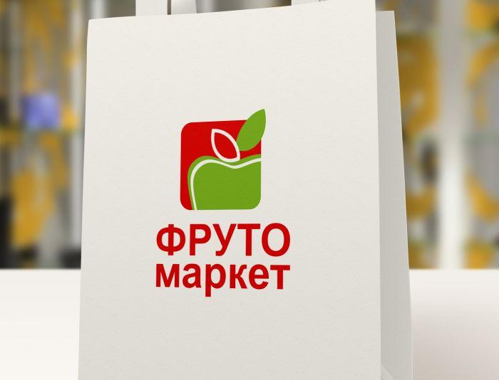 Логотип-вывеска фруктово-овощных магазинов премиум - дизайнер Pro-Olga