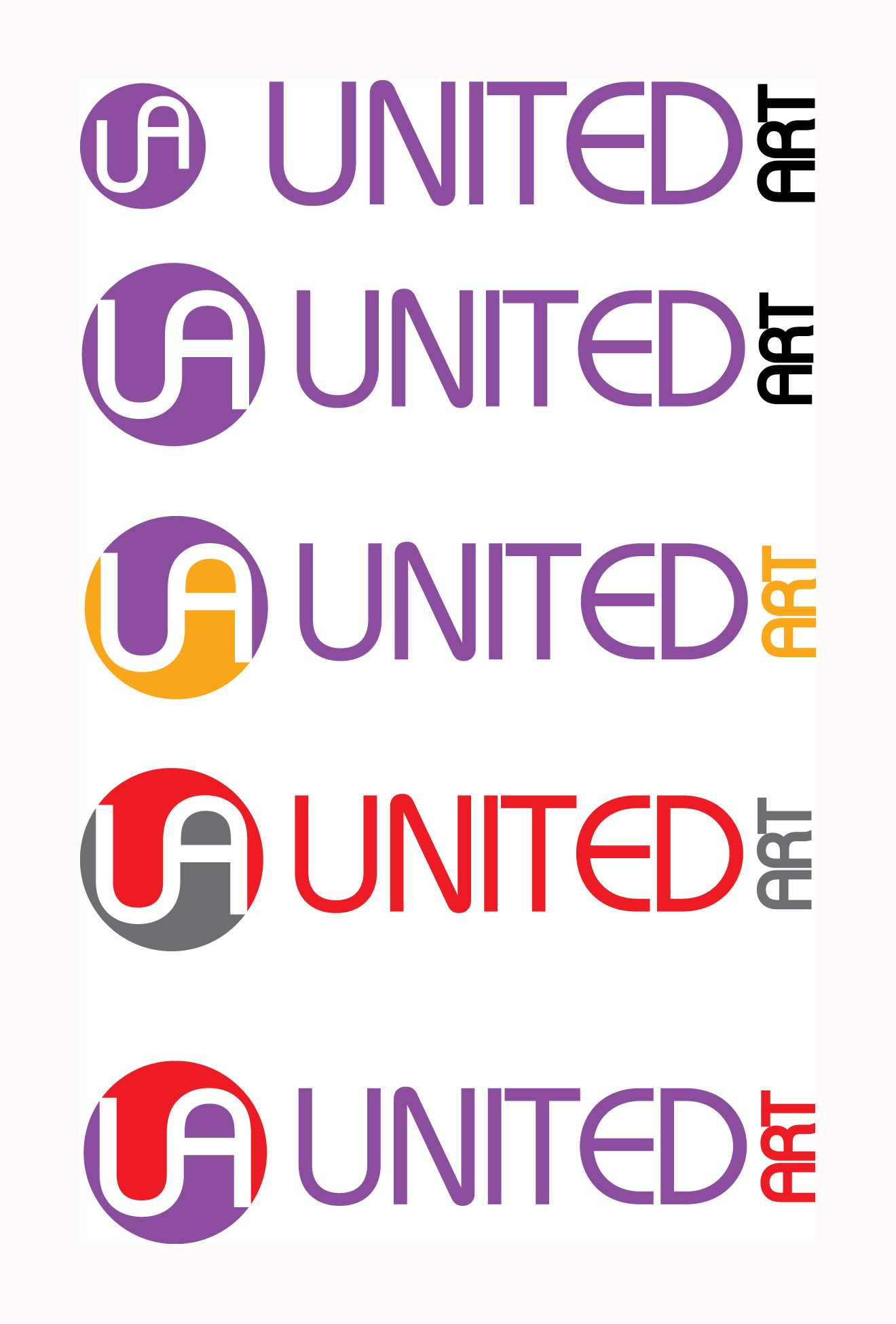 Логотип для компании United Art - дизайнер ms-katrin07