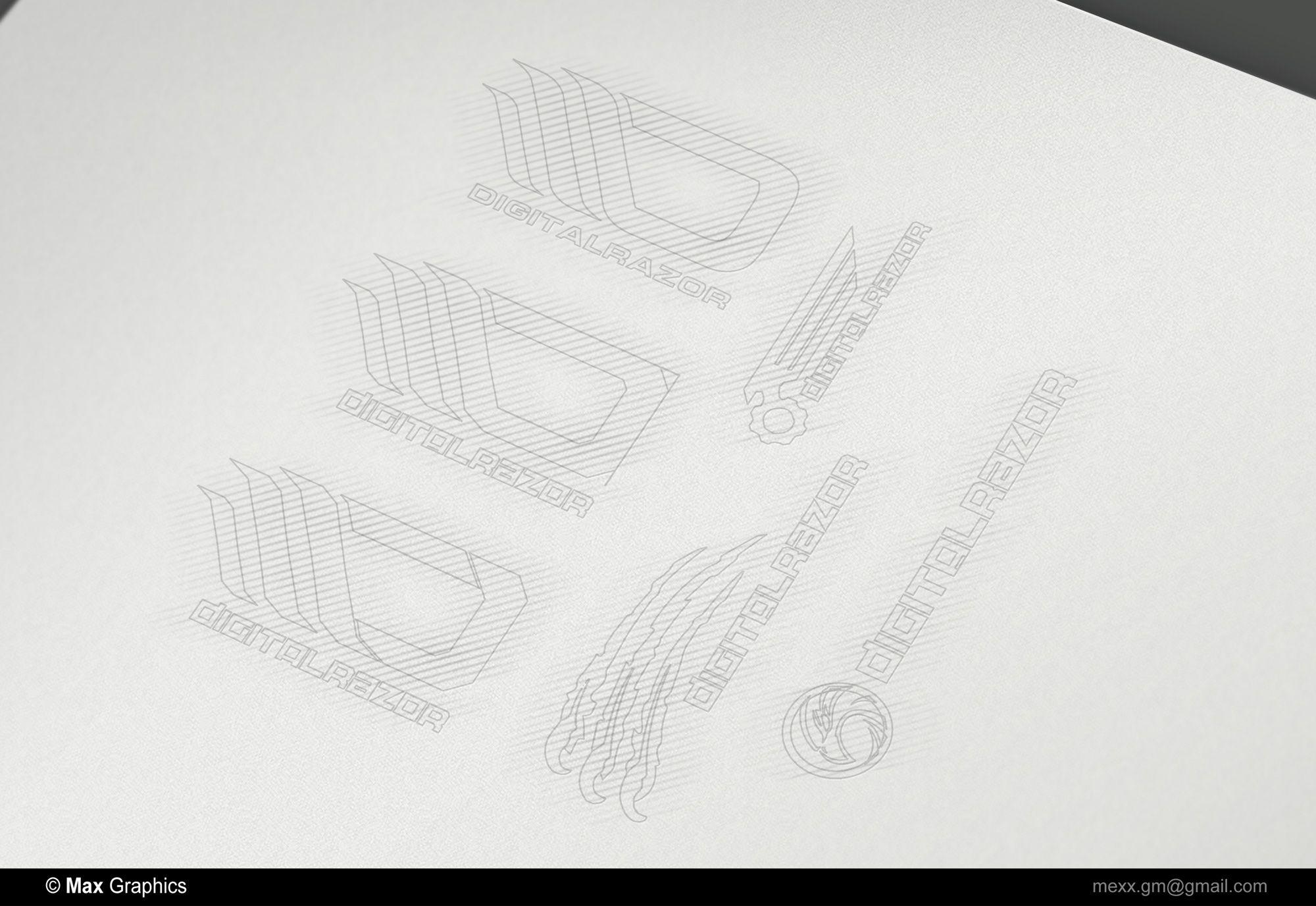 Фирменный стиль для студии HI-END компьютеров - дизайнер Kreativa