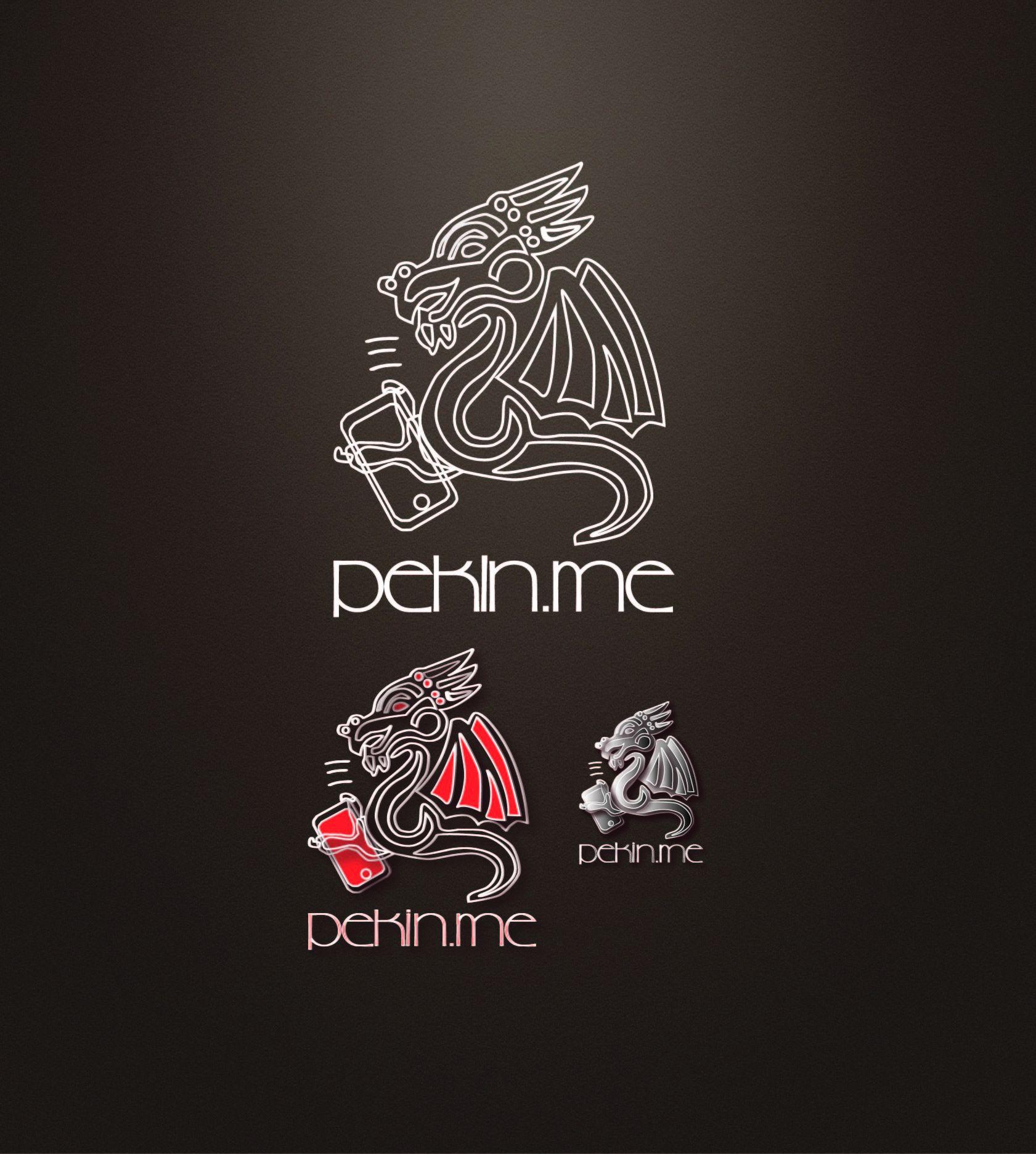 Логотип для компании pekin.me - дизайнер Victory17