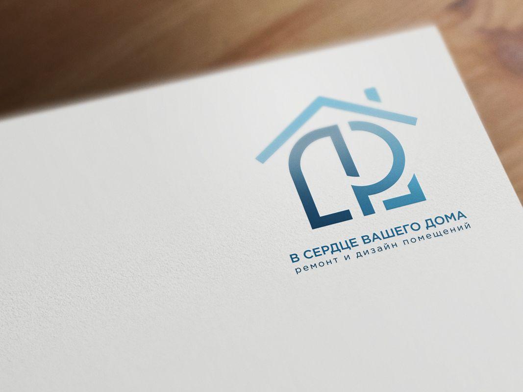Разработка логотипа компании по ремонту и дизайну - дизайнер Nekto