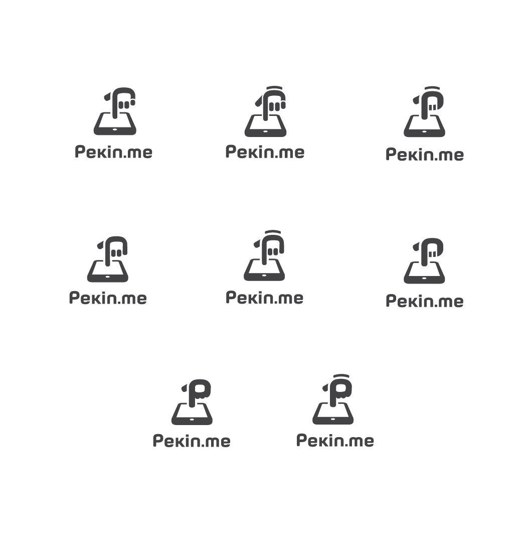 Логотип для компании pekin.me - дизайнер Allepta