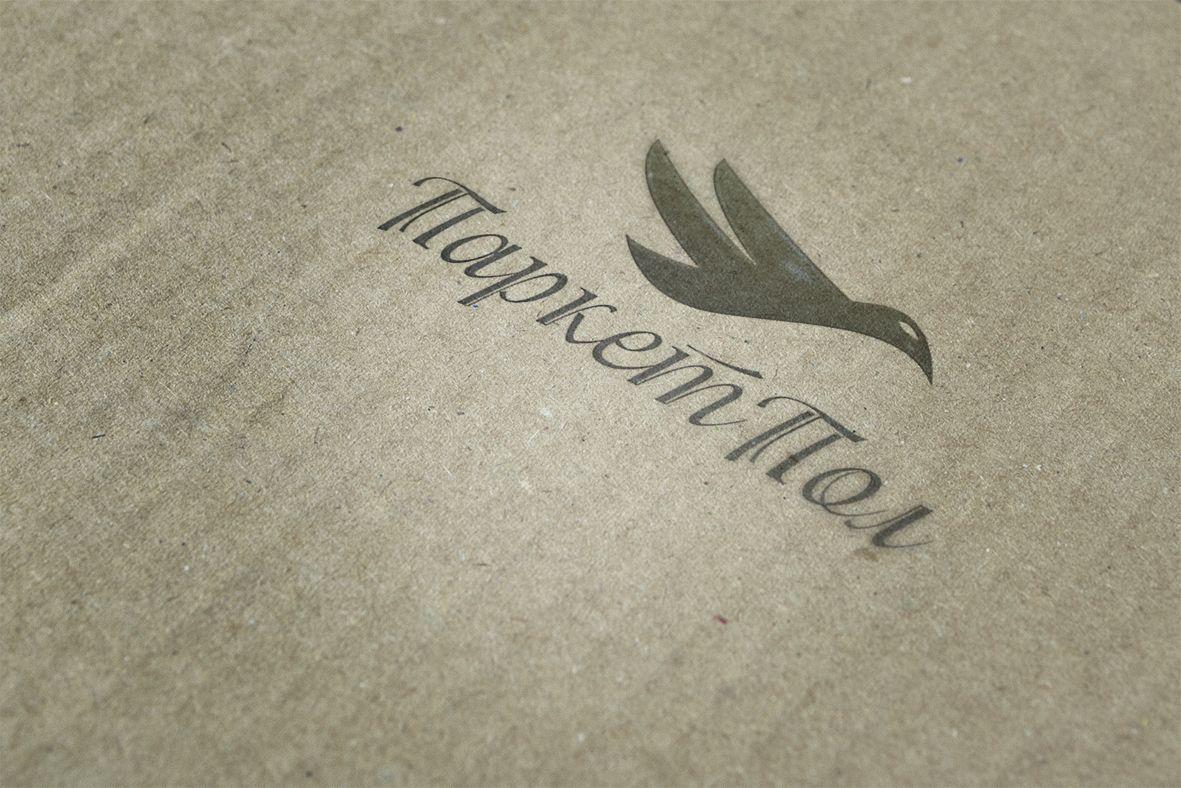 Лого и фирменный стиль компании по продаже паркета - дизайнер gagda82