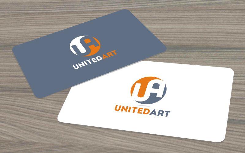 Логотип для компании United Art - дизайнер BlackH