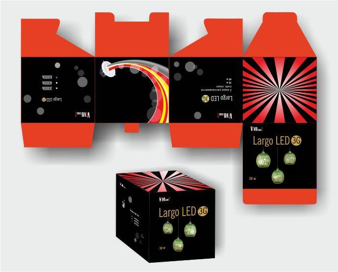 Упаковка для светильника Largo LED G3 - дизайнер sv58