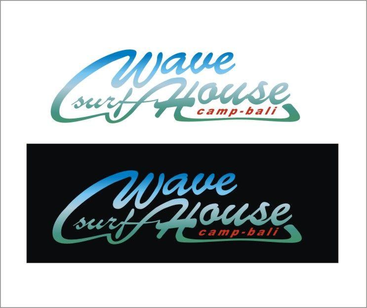 Редизайн логотипа для серф-кэмпа на Бали - дизайнер managaz