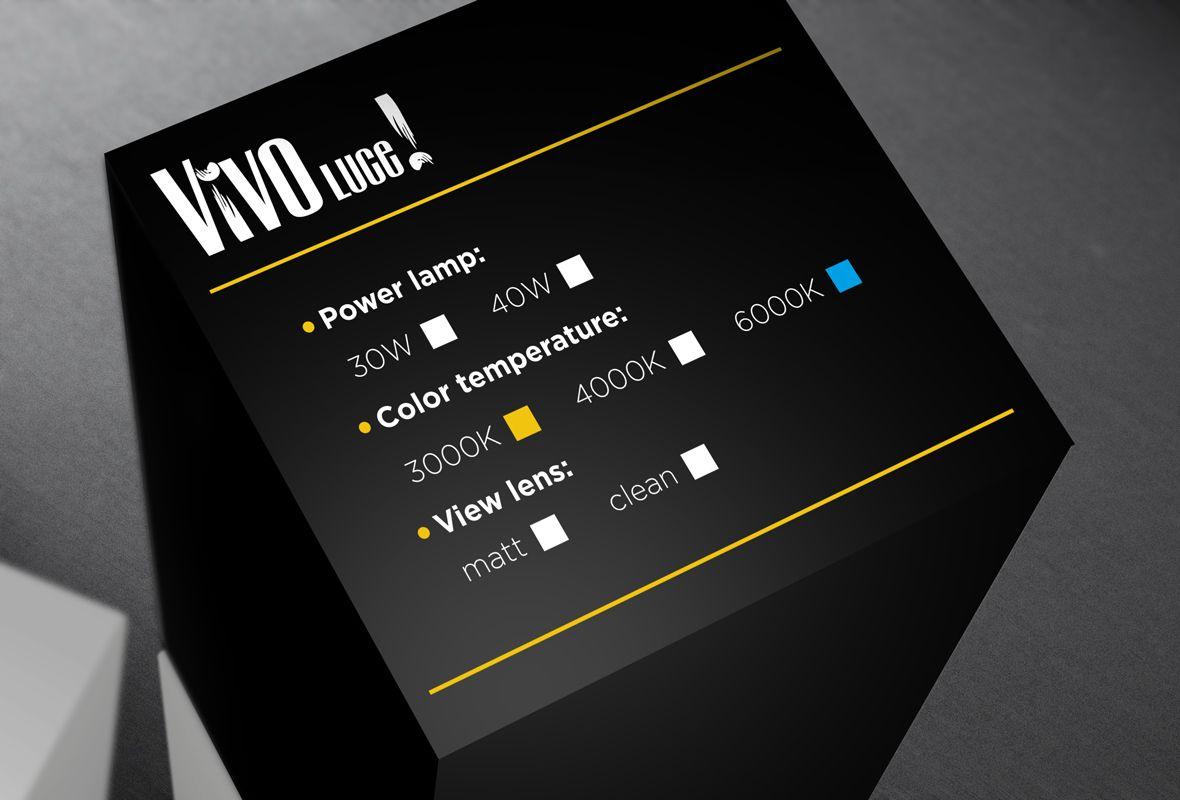 Упаковка для светильника Largo LED G3 - дизайнер Nekto