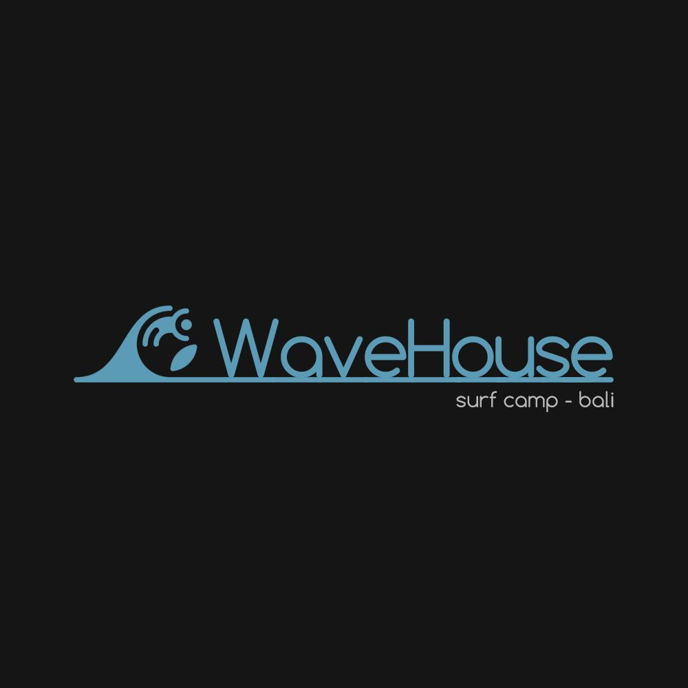 Редизайн логотипа для серф-кэмпа на Бали - дизайнер russ_id