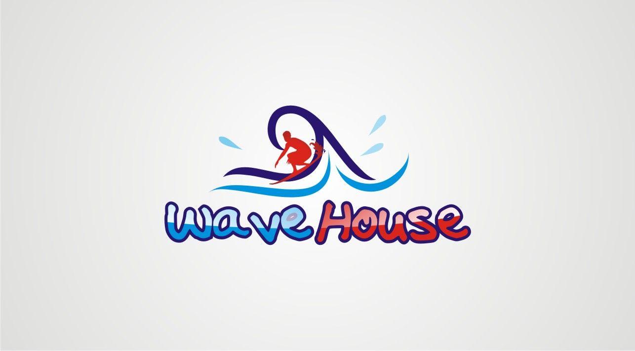 Редизайн логотипа для серф-кэмпа на Бали - дизайнер raxmatillo