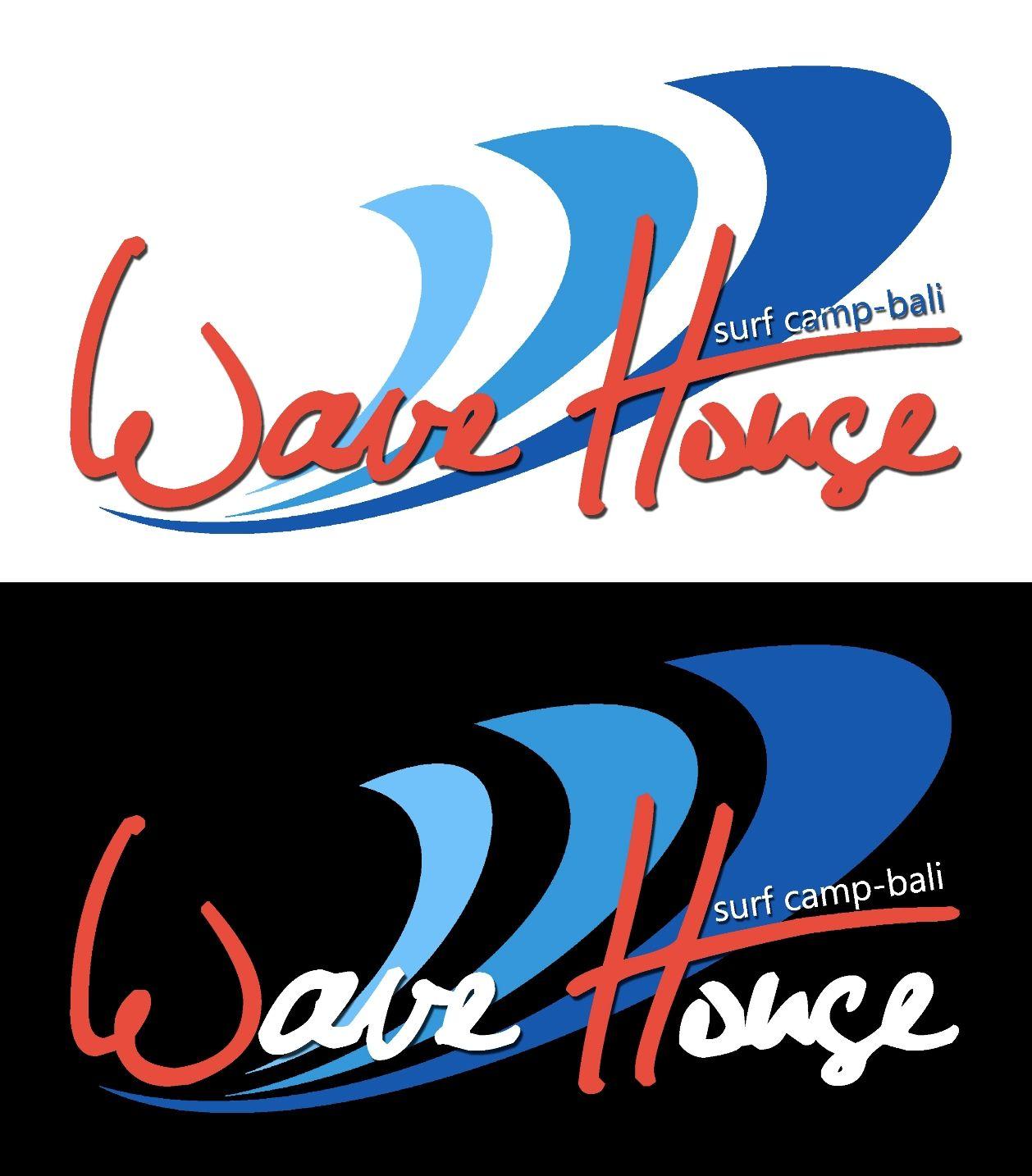 Редизайн логотипа для серф-кэмпа на Бали - дизайнер AkioShion