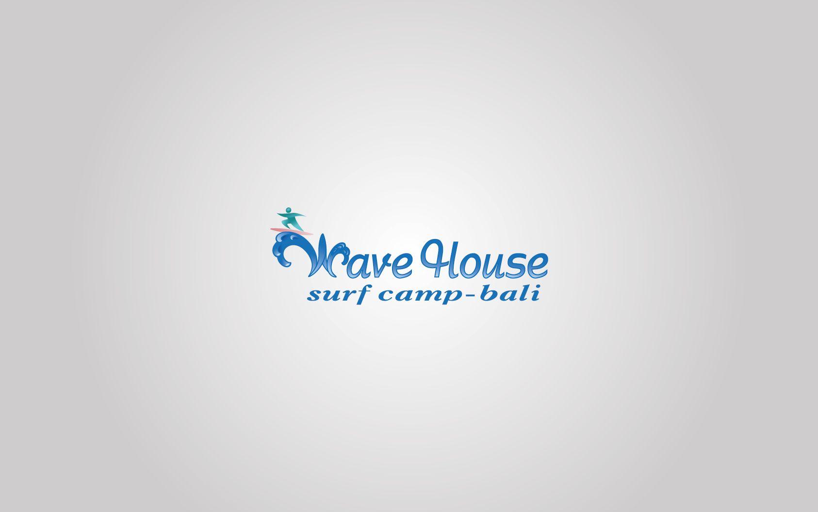 Редизайн логотипа для серф-кэмпа на Бали - дизайнер splinter