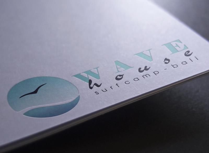 Редизайн логотипа для серф-кэмпа на Бали - дизайнер Chrispo