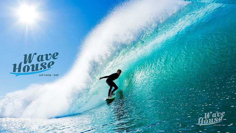 Редизайн логотипа для серф-кэмпа на Бали - дизайнер gisig