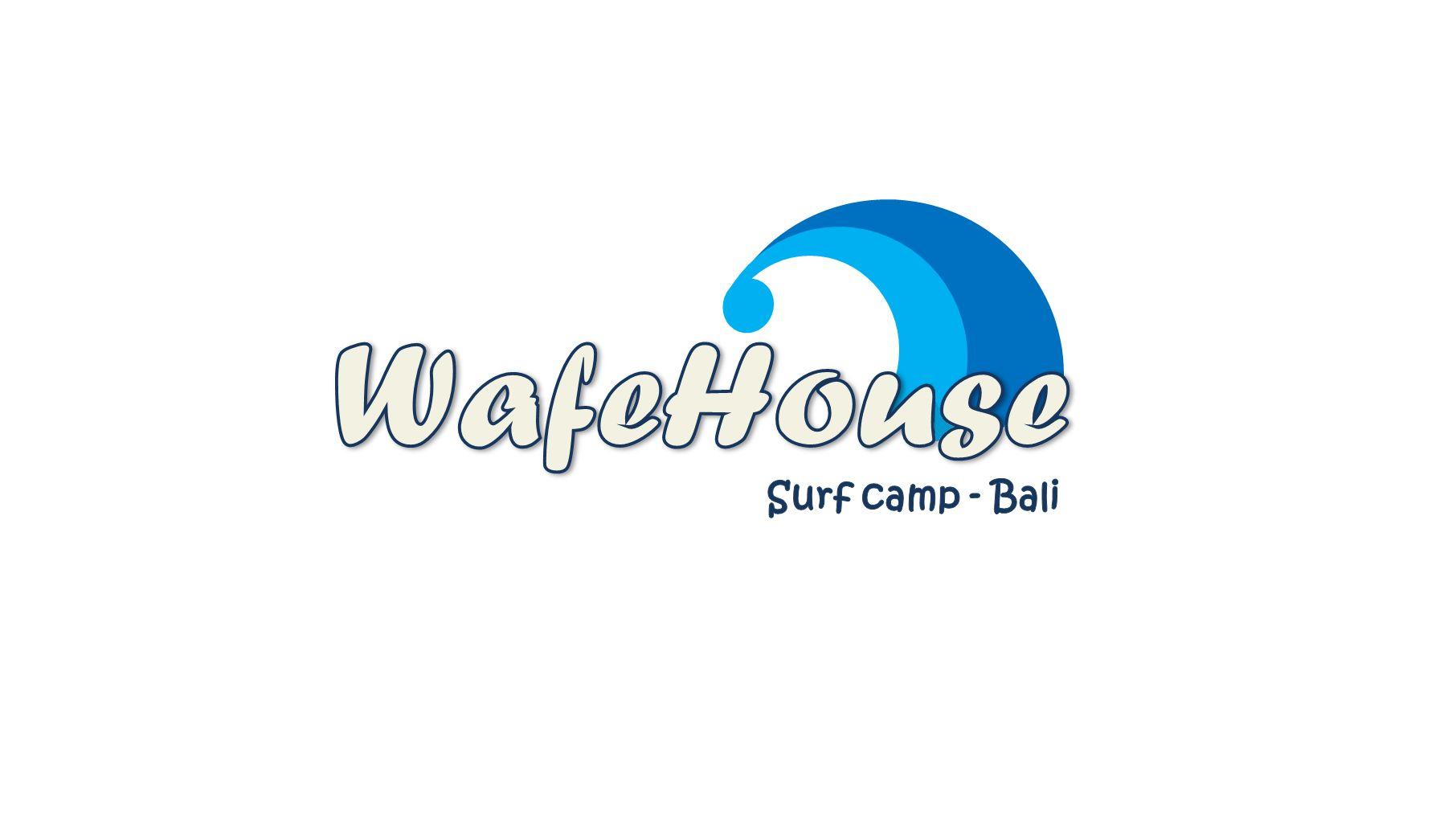 Редизайн логотипа для серф-кэмпа на Бали - дизайнер k-hak