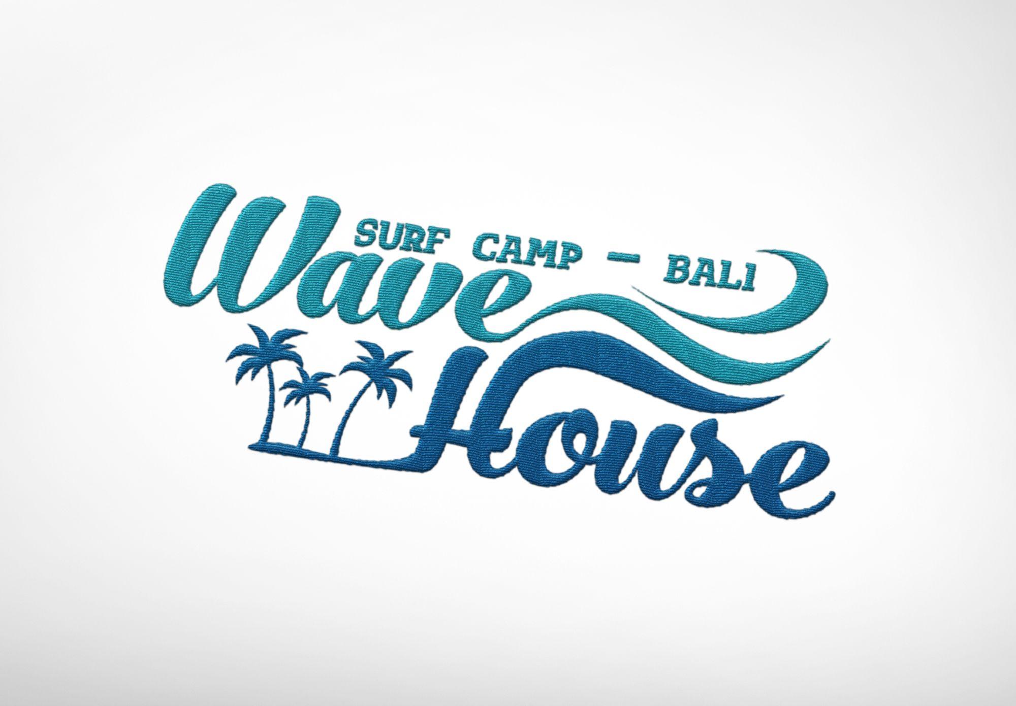 Редизайн логотипа для серф-кэмпа на Бали - дизайнер Anastasia04