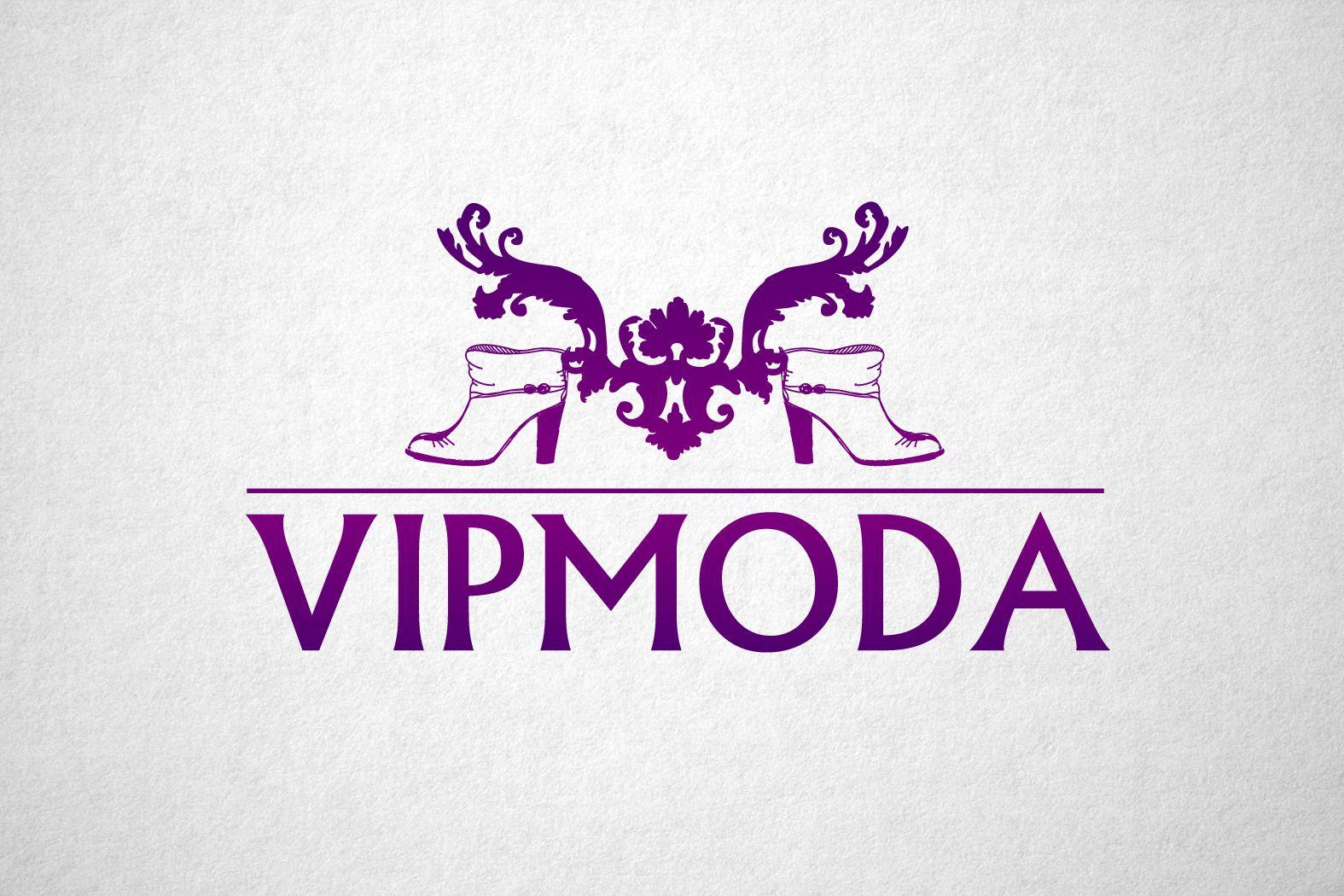 Лого и фирменный стиль компании ВИПМОДА  - дизайнер funkielevis