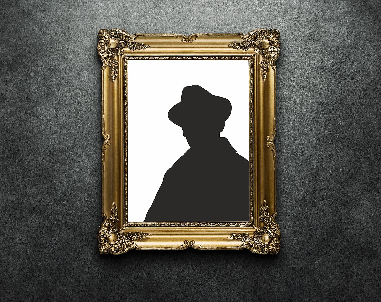 Плакат-портрет Михаила Булгакова - дизайнер freak