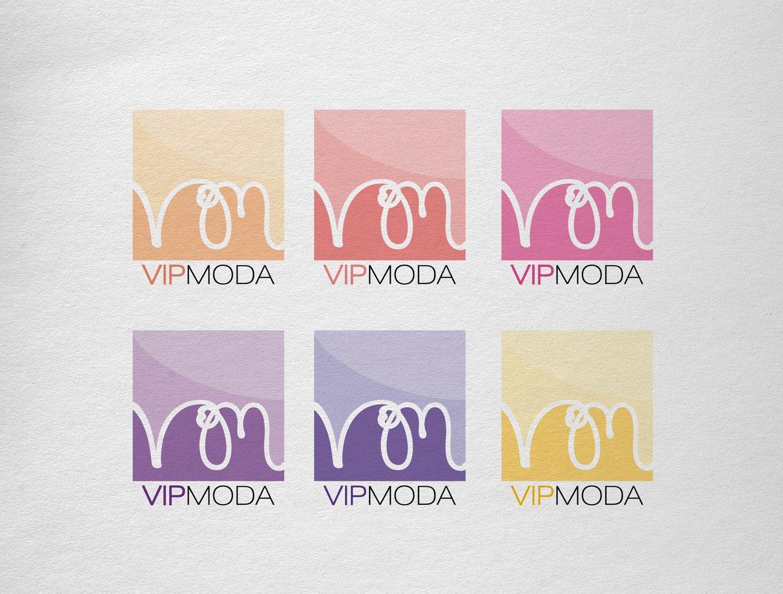 Лого и фирменный стиль компании ВИПМОДА  - дизайнер BroSik