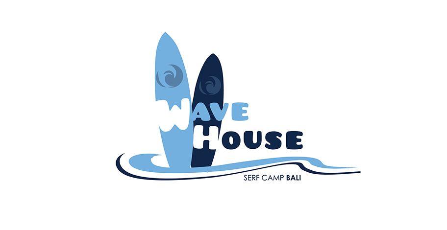 Редизайн логотипа для серф-кэмпа на Бали - дизайнер ms-katrin07