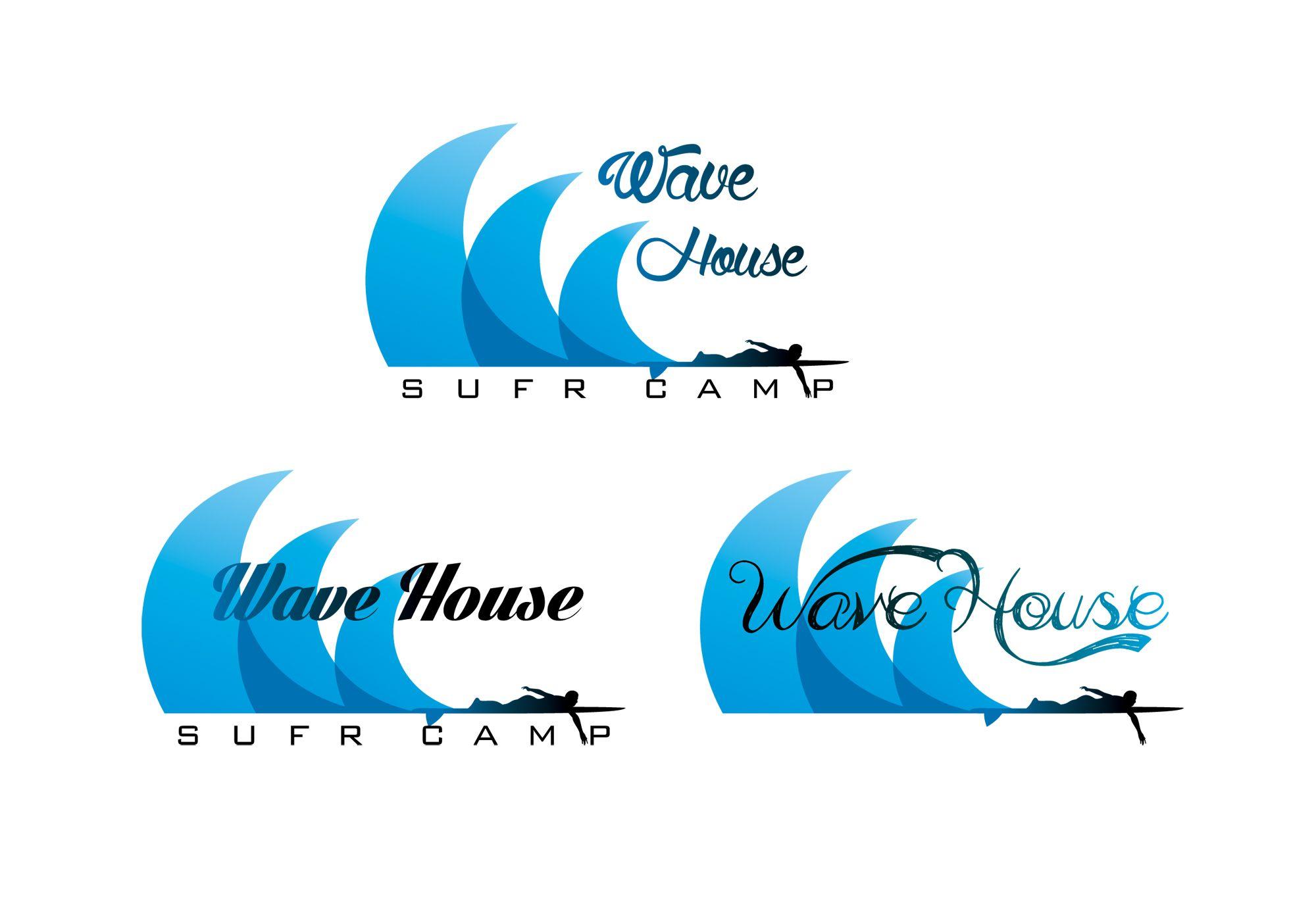 Редизайн логотипа для серф-кэмпа на Бали - дизайнер R-A-M