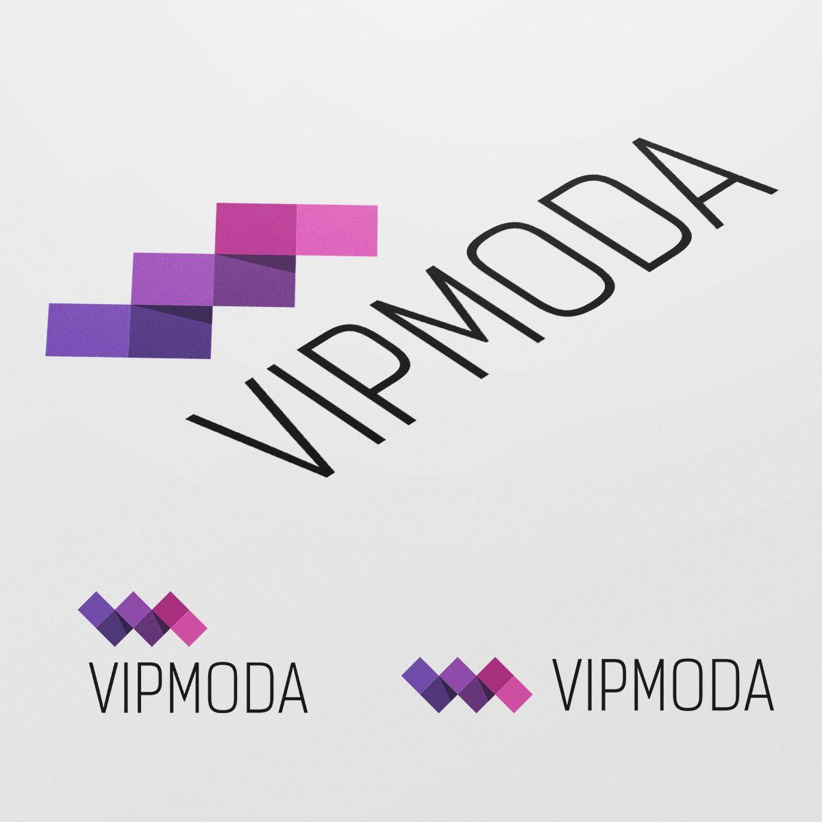 Лого и фирменный стиль компании ВИПМОДА  - дизайнер TVdesign