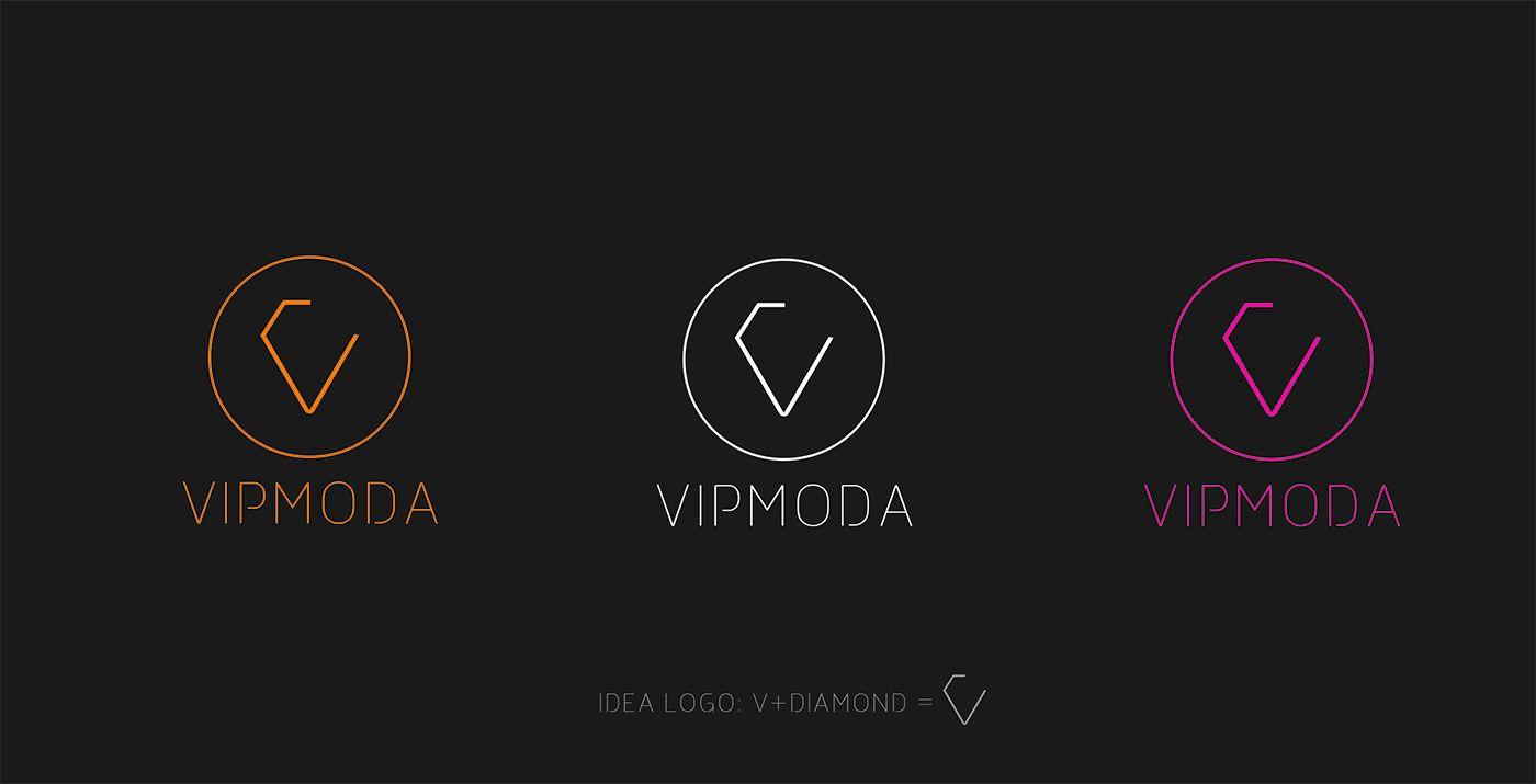 Лого и фирменный стиль компании ВИПМОДА  - дизайнер DynamicMotion