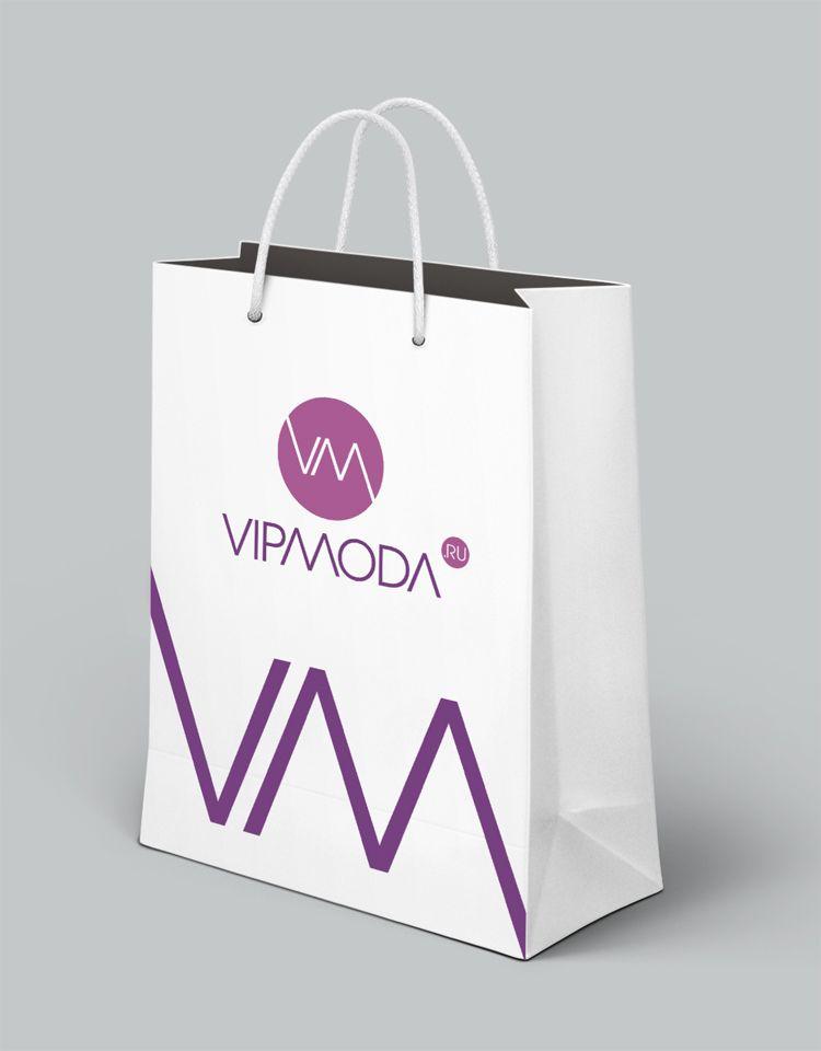 Лого и фирменный стиль компании ВИПМОДА  - дизайнер mz777