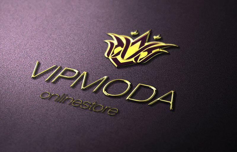 Лого и фирменный стиль компании ВИПМОДА  - дизайнер luveya
