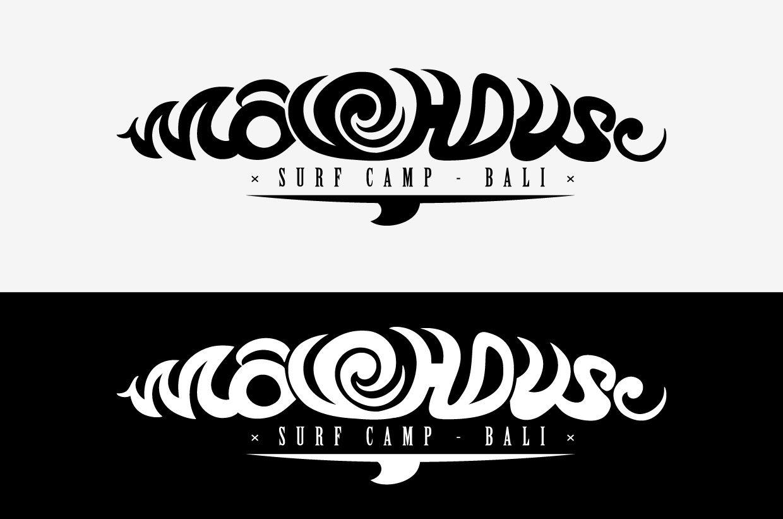 Редизайн логотипа для серф-кэмпа на Бали - дизайнер a_slowik