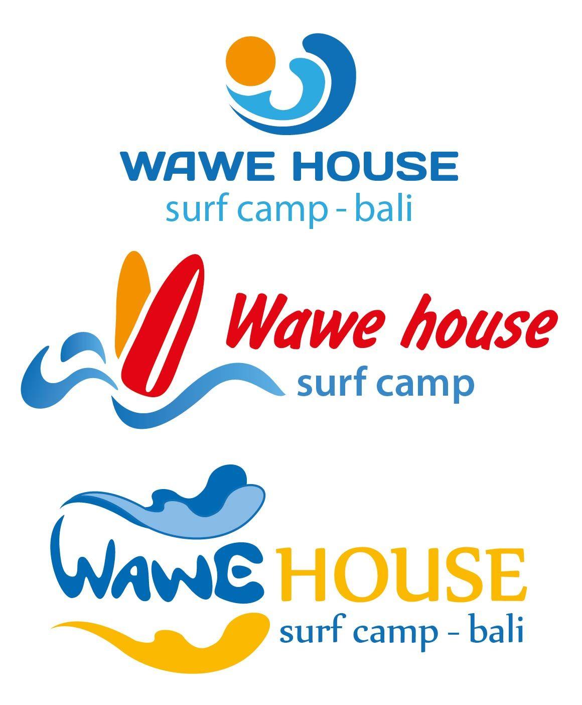 Редизайн логотипа для серф-кэмпа на Бали - дизайнер Elena_S
