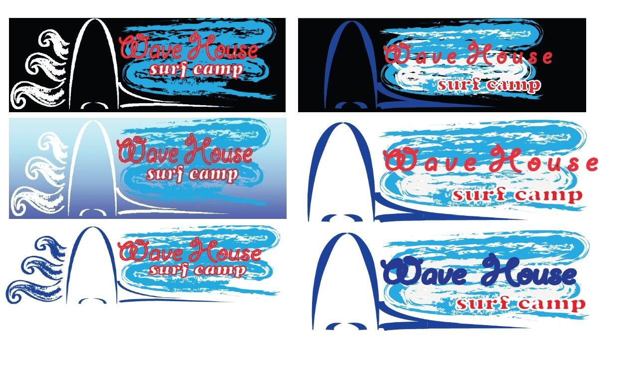 Редизайн логотипа для серф-кэмпа на Бали - дизайнер boikova_o