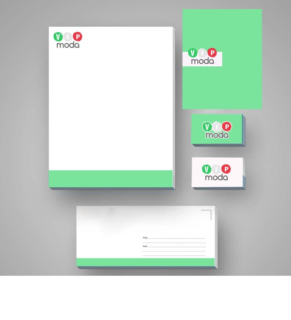 Лого и фирменный стиль компании ВИПМОДА  - дизайнер Ekalinovskaya