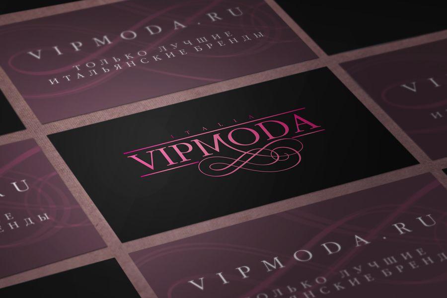 Лого и фирменный стиль компании ВИПМОДА  - дизайнер grafushka2112