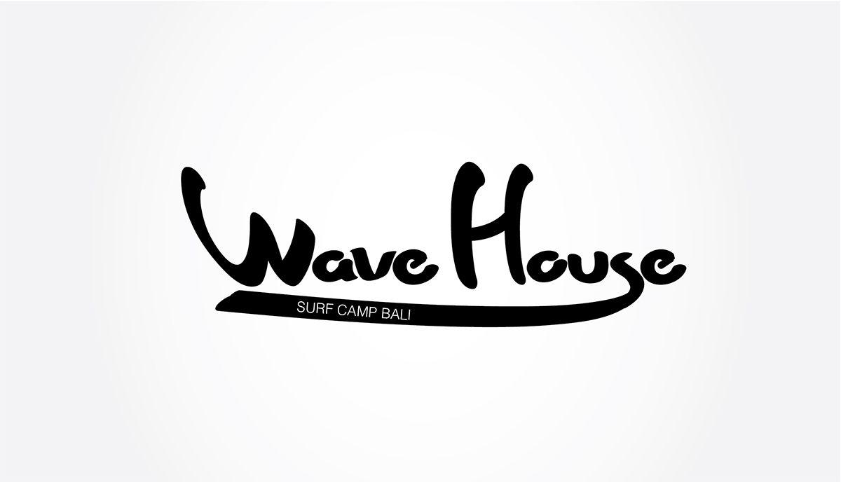 Редизайн логотипа для серф-кэмпа на Бали - дизайнер luveya