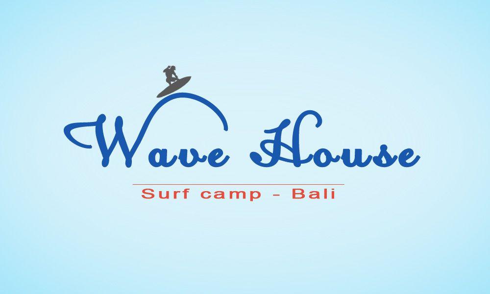 Редизайн логотипа для серф-кэмпа на Бали - дизайнер Vfr2002