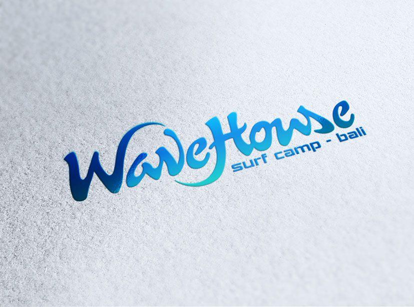 Редизайн логотипа для серф-кэмпа на Бали - дизайнер zhutol