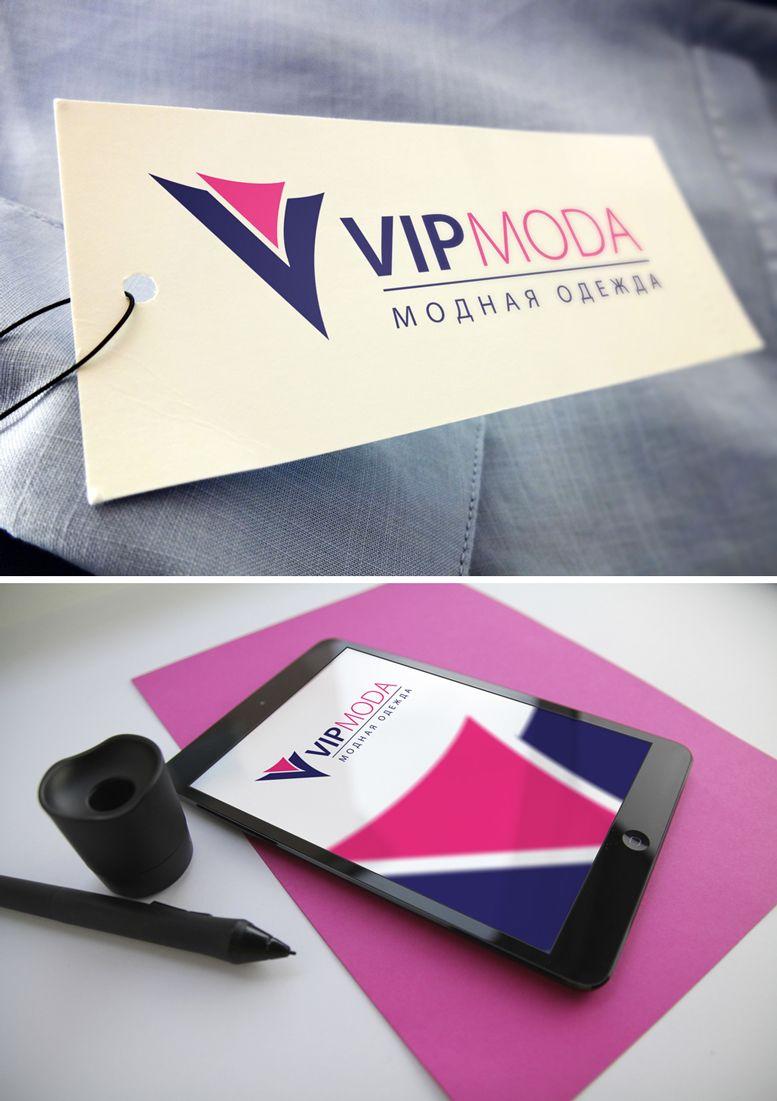 Лого и фирменный стиль компании ВИПМОДА  - дизайнер GreenRed